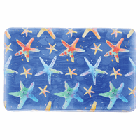 Colorful Starfish Memory Foam Mat - 22 x 35 - OVERSTOCK
