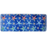 Colorful Starfish Memory Foam Mat - 22 x 55 - OVERSTOCK