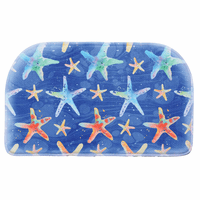 Colorful Starfish Memory Foam Slice Mat - OVERSTOCK