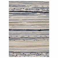 Colours Sketchy Lines Classic Gray Rug - 2 x 3 - OVERSTOCK