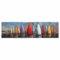 Come Sail Away Metal Wall Art