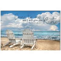 Come to Me Wrapped Canvas Art