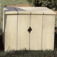 Companion Adirondack Box with Lid