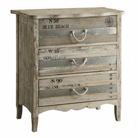 Compass Beach 3 Drawer Chest