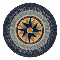 Compass Braided Rug