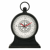 Compass Tabletop Clock