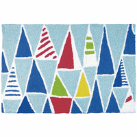 Contemporary Sails Indoor/Outdoor Rug