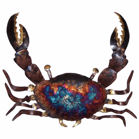 Copper Dripped Crab - Large