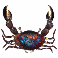 Copper Dripped Crab - Small