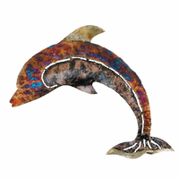 Copper Dripped Dolphin