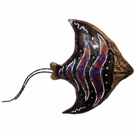 Copper Dripped Manta Ray