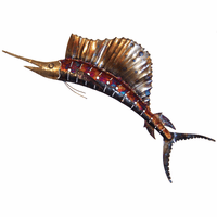 Copper Dripped Marlin - Medium