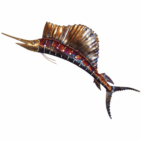 Copper Dripped Marlin - Small