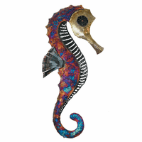 Copper Dripped Seahorse