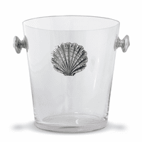 Coquille Glass Ice Bucket