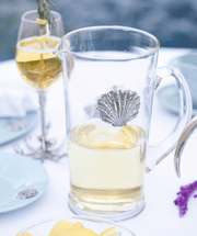 Coquille Glass Pitcher