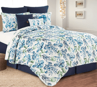 Coral Bay Quilt Set - Twin