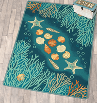 Coral Cove Rug - 5 x 8 - OVERSTOCK