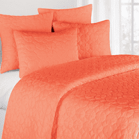 Coral Mara King Quilt - OVERSTOCK
