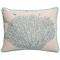 Coral Minnows Pillow