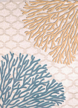 Coral Reef Harvest Rug Collection