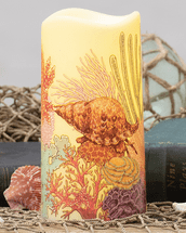 Coral Reef LED Candle