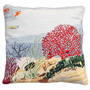 Coral Reef Needlepoint Pillow