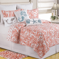 Coral Reef Quilt Bedding Collection