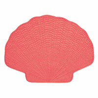 Coral Shell Placemats - Set of 12