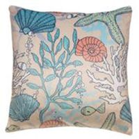 Coral & Shells Pillow