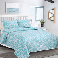 Coralscape Quilt Set - Twin - OUT OF STOCK