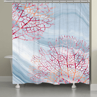 Coralscape Shower Curtain
