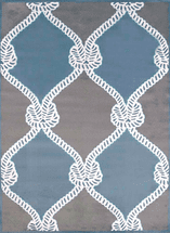 Cordage Blue Rug Collection