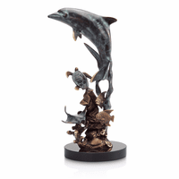 Cordial Dolphin Sculpture