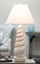 Cottage Shell Table Lamp