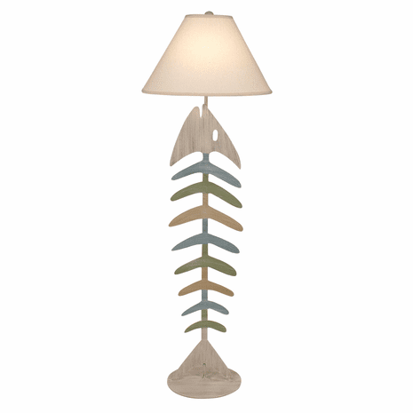 Cottage Summer Fishbone Floor Lamp