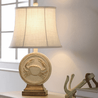 Crab Carving Table Lamp
