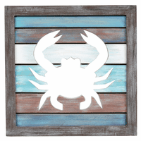 Crab Cutout Wall Hanging