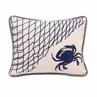 Crab Net Pillow