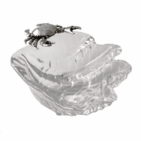 Crab on Shell Dip Bowl - Large