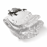 Crab on Shell Dip Bowl - Small - OVERSTOCK
