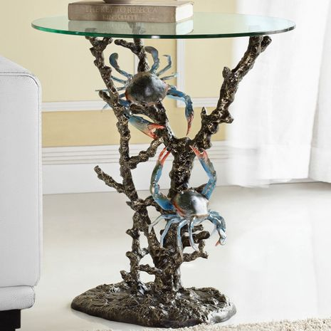 Crabs & Coral End Table