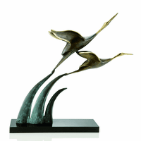 Crane Ascension Sculpture