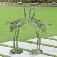 Crane Statuary - Set of 2