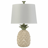 Cream Aloha Table Lamp