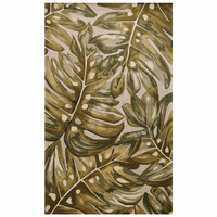Creek Falls Green Tropical Palms Rug Collection