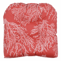 Crimson Coral Indoor/Outdoor Chair Cushion - CLEARANCE