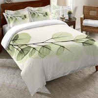 Crystalline Leaves Comforter - Twin