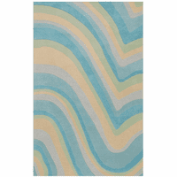 Currents Blue Rug Collection