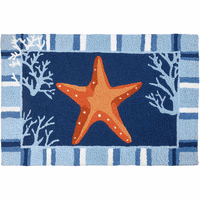 Dancing Starfish Indoor/Outdoor Rug
